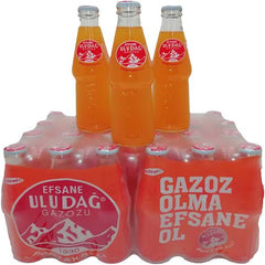 Uludag Turkish Orange Soda 250 Ml x 24 Case Pack