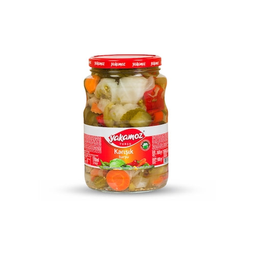Yakamoz Mixed Vegetable Pickles 1.6 Kg ( 3.5 Lbs )