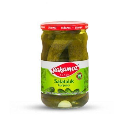 Yakamoz Pickled Gherkins 680 Gr ( 24 Oz )