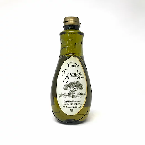 Yudum Egemden Extra Virgin Olive Oil First Cold Pressed 1 Lt ( 33.8 FL OZ )