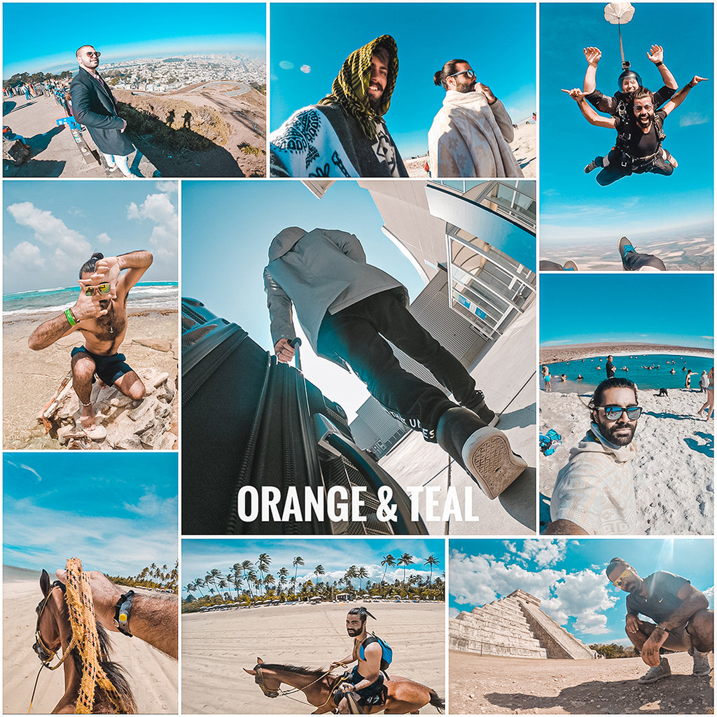 Orange & Teal - (3) Lightroom presets - EZ PRESETS