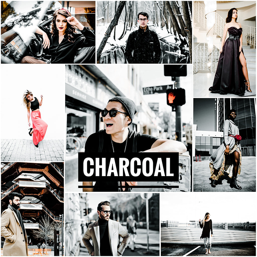 Charcoal - (2) Lightroom presets - EZ PRESETS