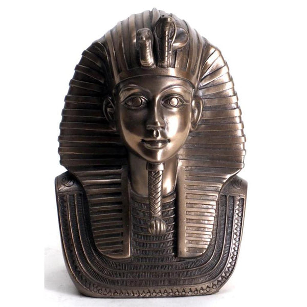 Tut Mask-bronze finish