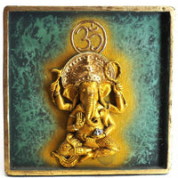 Ganesh Plaque Set of 2