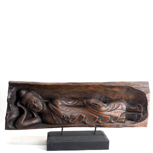 Buddha Teak Wood Plaque