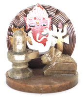 Incense Burner, Buddha, Ganesha, Om