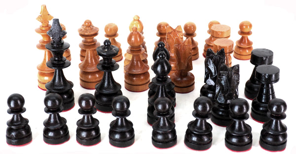 "Chess pieces-wood-4.25"" king"