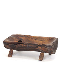 Carving-Teakwood tray-7.5''