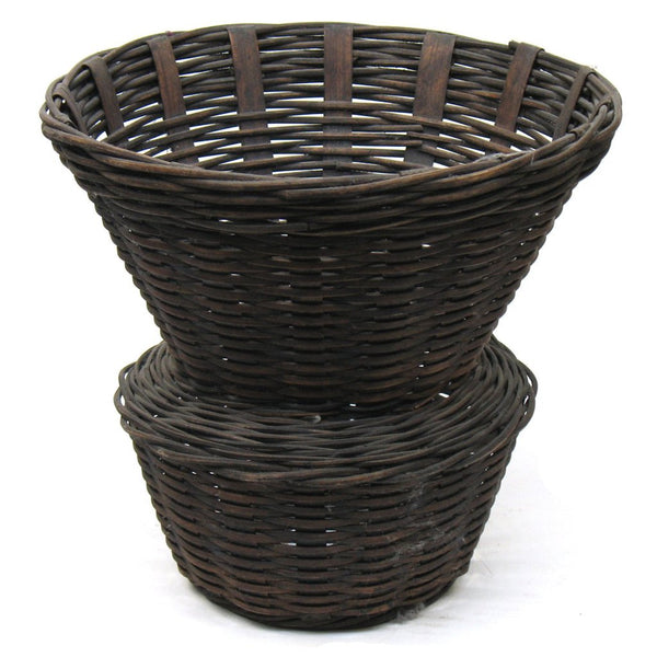 Rattan Basket-104-black