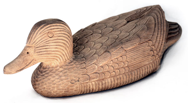 Wood Carving, Duck