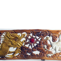 Dragon and Phoenix Plaque