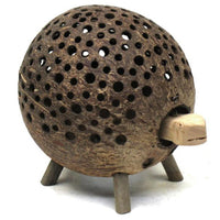 Carving-Coconut shell turtle-bob head