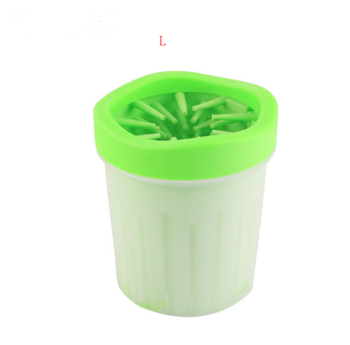 Silicone Dog Paw Washer Cup