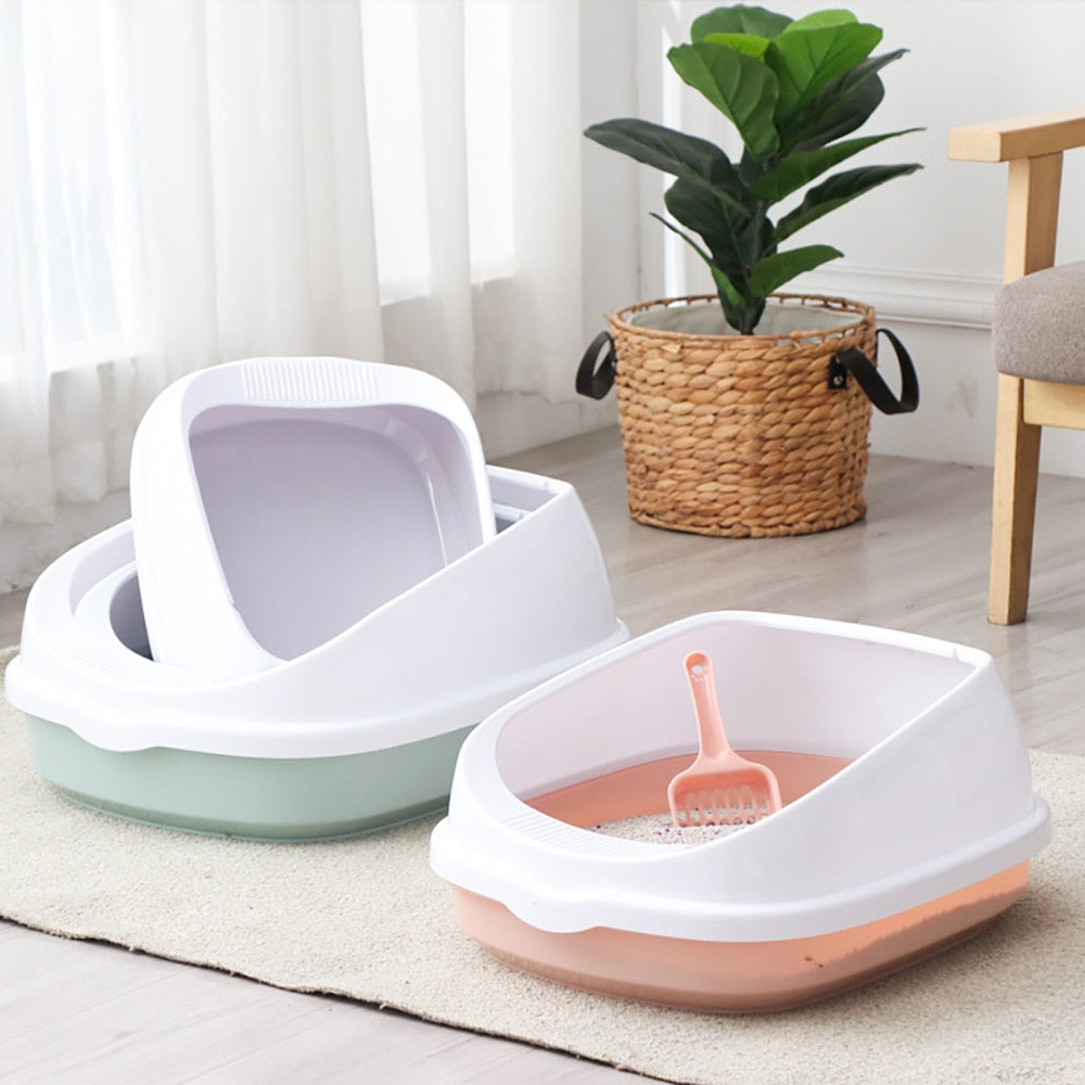 Pet Cat Toilet Semi-enclosed