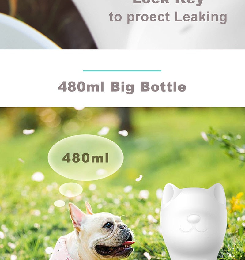 Portable Dog/Cat Water Bottle For The Travelling Pet