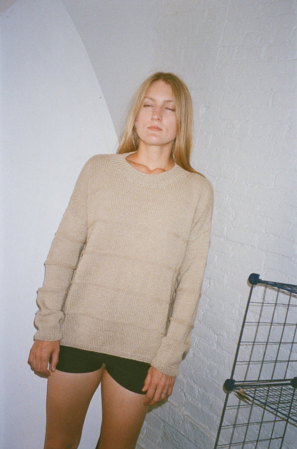 LAKEWOOD SWEATER | PEBBLE