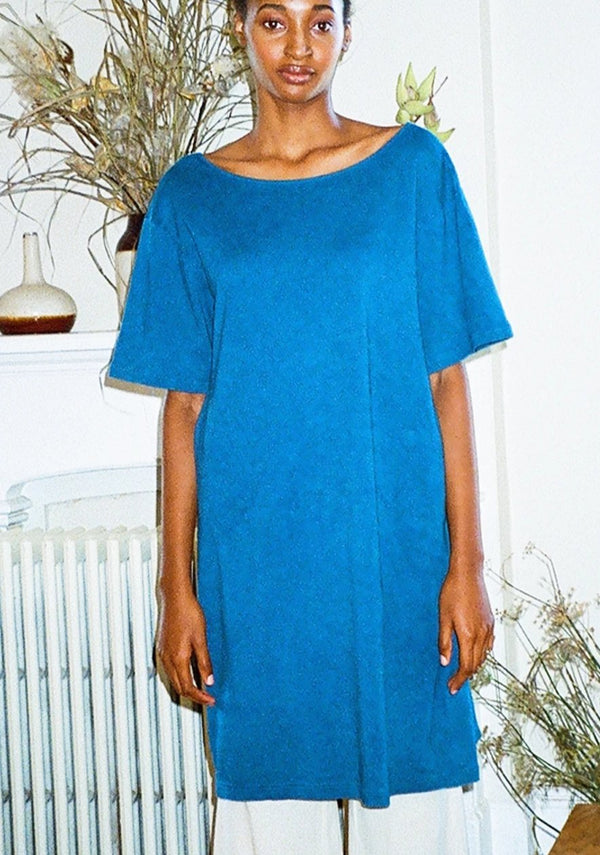 VADA MARKET DRESS | INDIGO