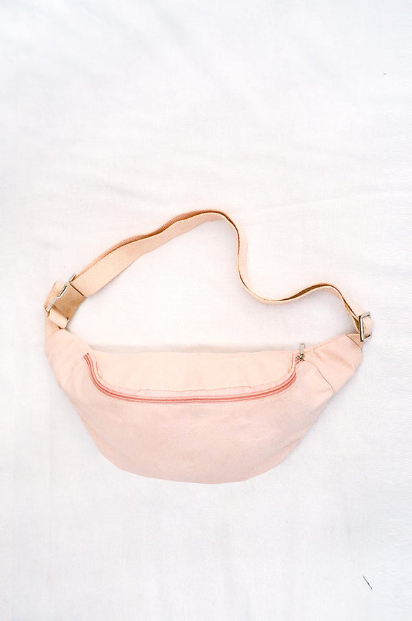 COLORANT RAW SILK FANNY PACK | BLUSH