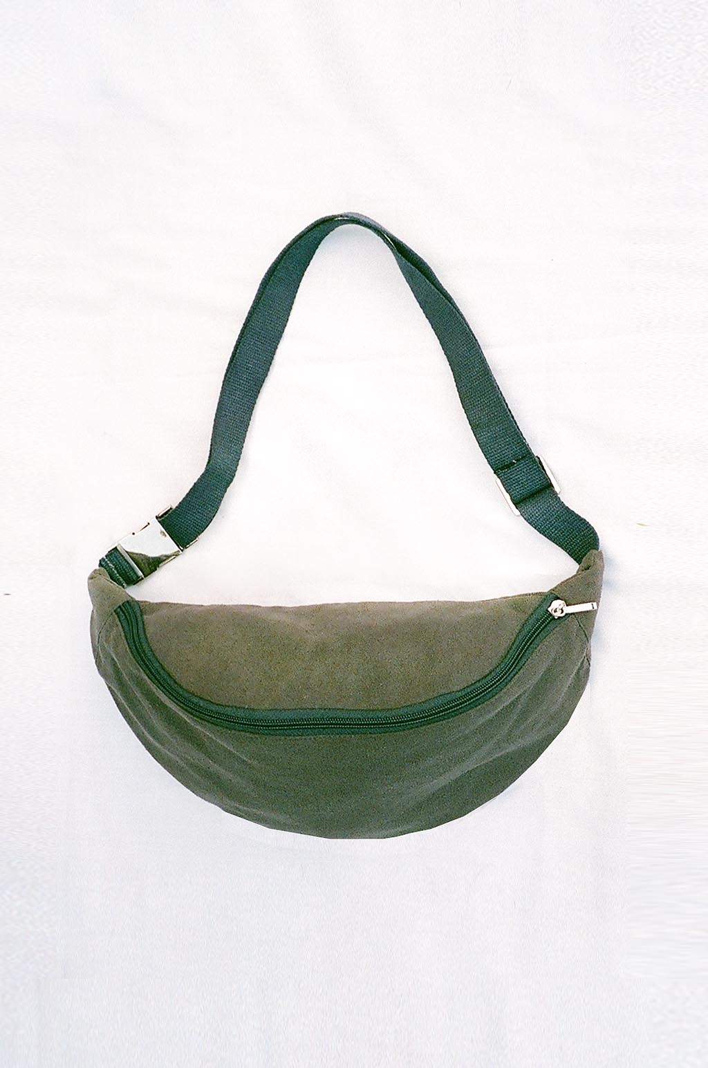 COLORANT RAW SILK FANNY PACK | CHARCOAL