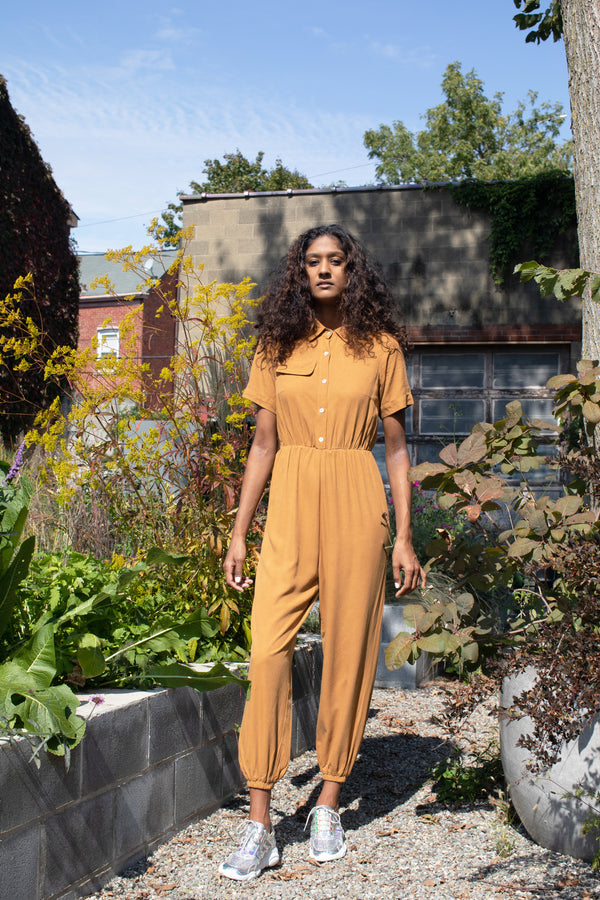 COLORANT ROWAN JUMPSUIT | DIJON