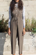 COLORANT TATUM JUMPSUIT | GRAPHITE
