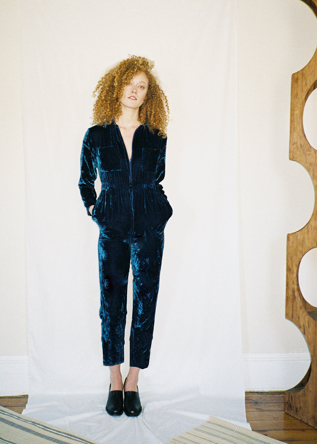 COLORANT ESSENTIAL JUMPSUIT | INDIGO