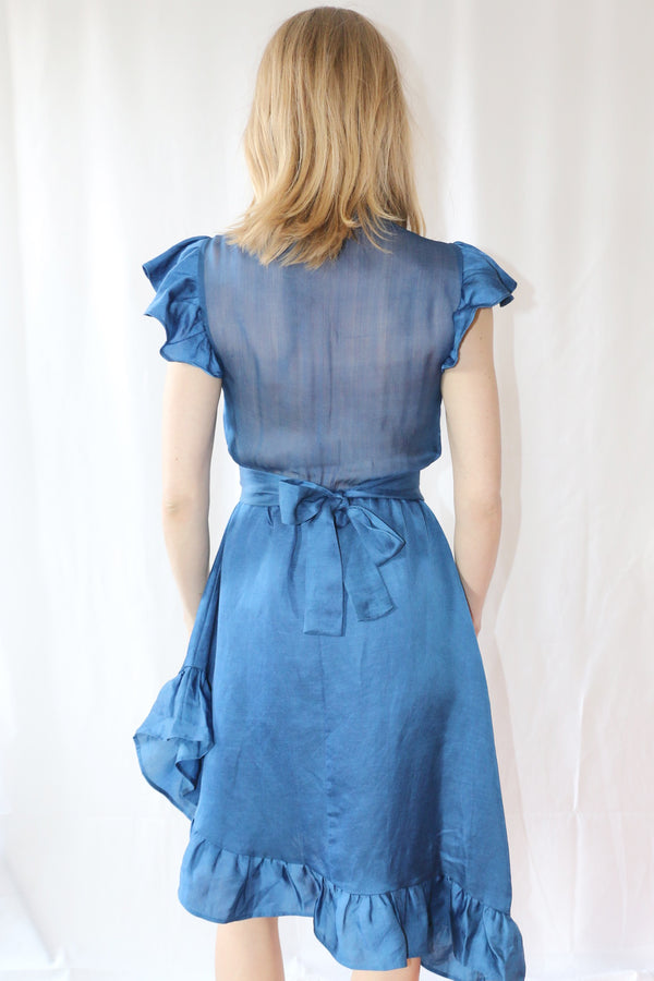 VOYAGER DRESS | INDIGO