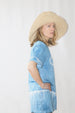 COLORANT RAFFIA SUNHAT | MORGAN