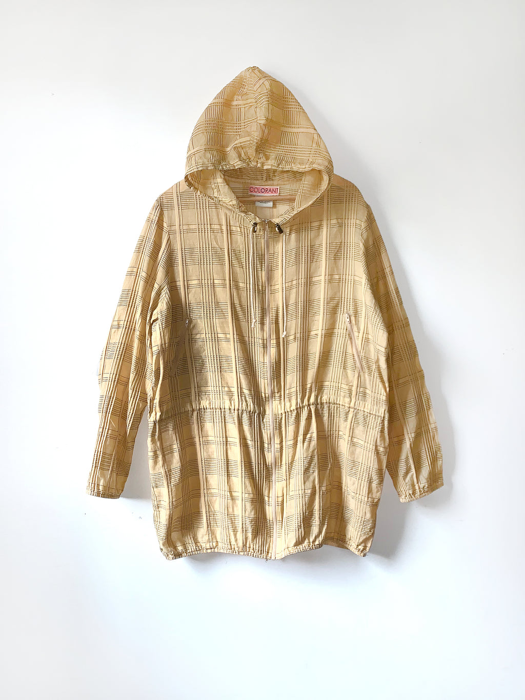 HOODED JACKET | GOLDENROD