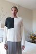 COLORBLOCK SWEATER | NEUTRAL