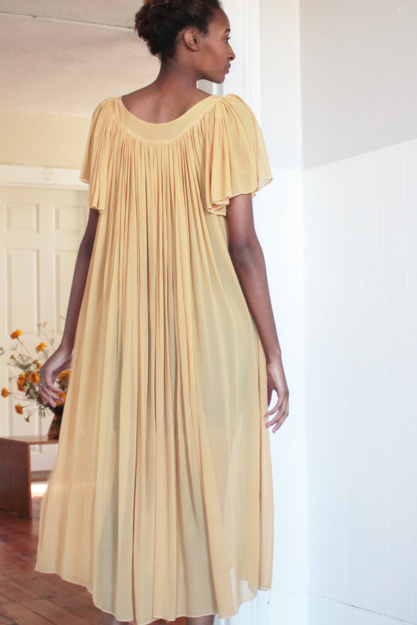 COLORANT TAMIRU DRESS | GOLD