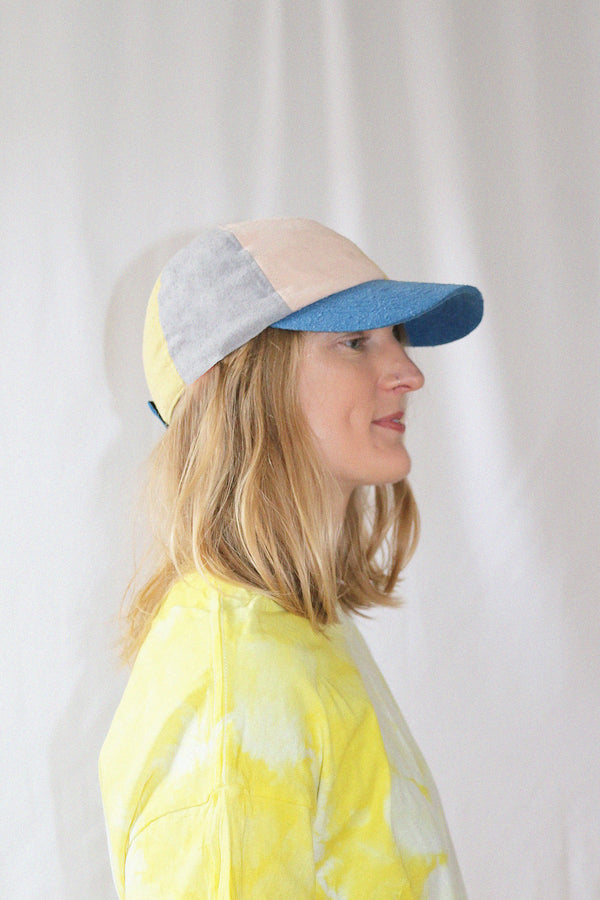 COLORANT RAW SILK FITTED CAP | RAINBOW