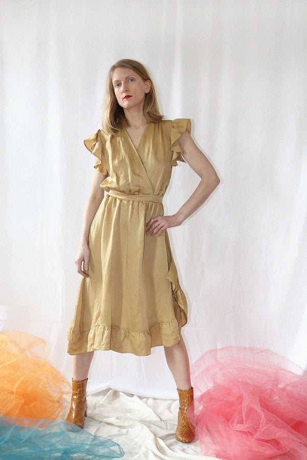 VOYAGER DRESS | GOLDENROD
