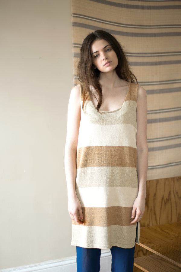 COLORANT AVA HAND-KNIT DRESS | COLORGROWN COTTON
