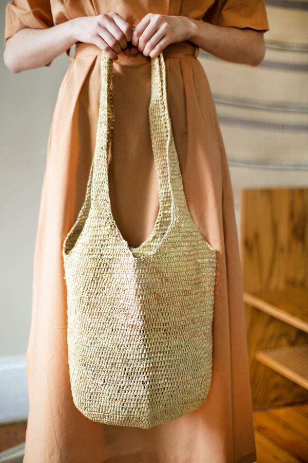 COLORANT RAFFIA BAG | NATURAL