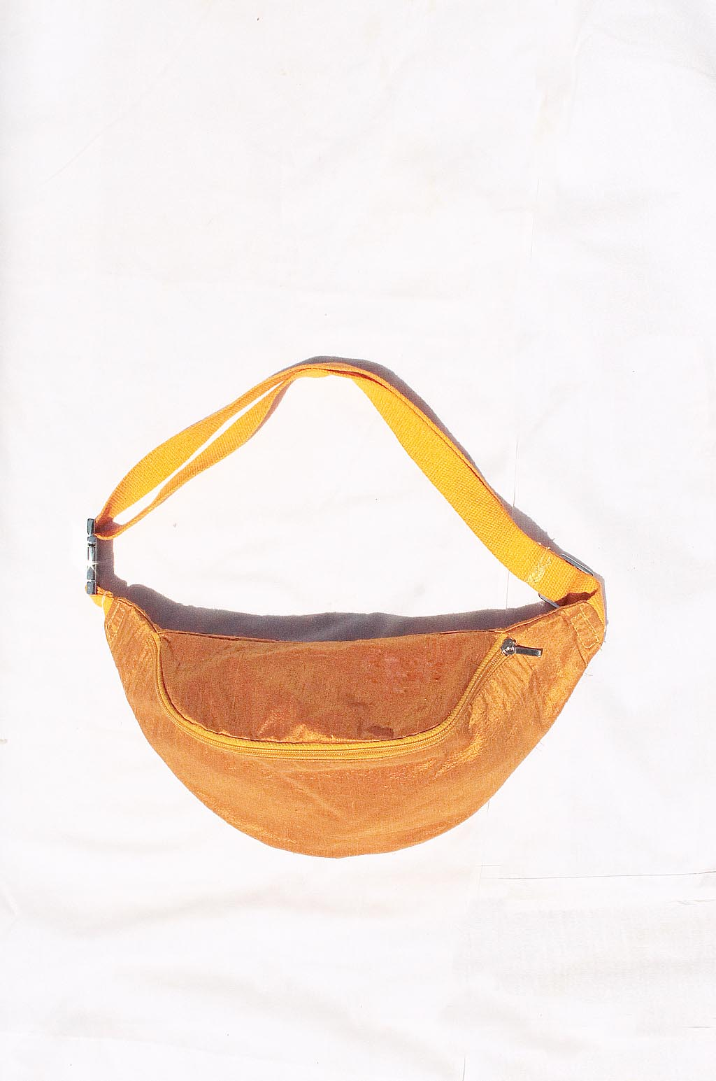 COLORANT SILK SLUB FANNY PACK | MARIGOLD