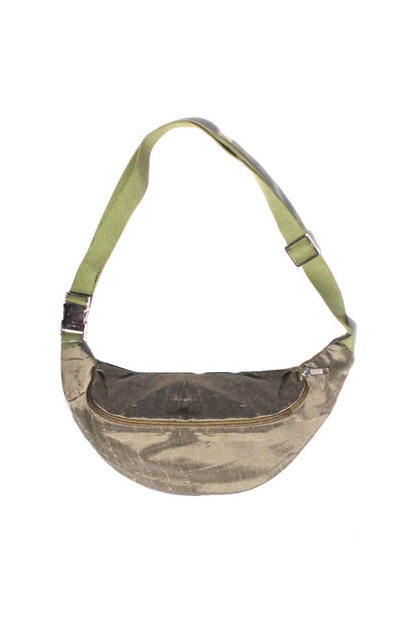 COLORANT SILK SLUB FANNY PACK | OLIVE