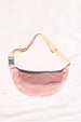 COLORANT SILK SLUB FANNY PACK | ROSE