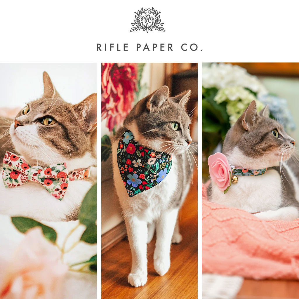Rifle Paper Co Cat Collars, Bow Ties & Accessories
