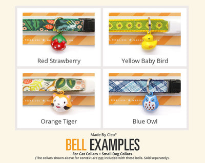 Specialty Pet Collar Jingle Bell (32 Styles) - Pick One - For Cat Collars & Small Dog Collars (EXTRA LOUD)