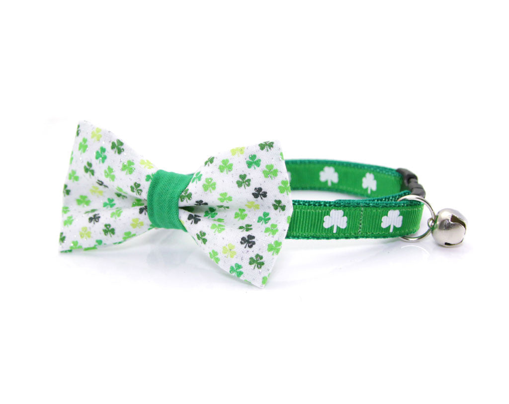 St Patrick/'s Day Collar Bow