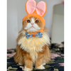 "Pet Bow Tie - ""Some Bunny Loves You"" - Carrot Bow Tie / Easter / For Cats + Small Dogs (One Size)"