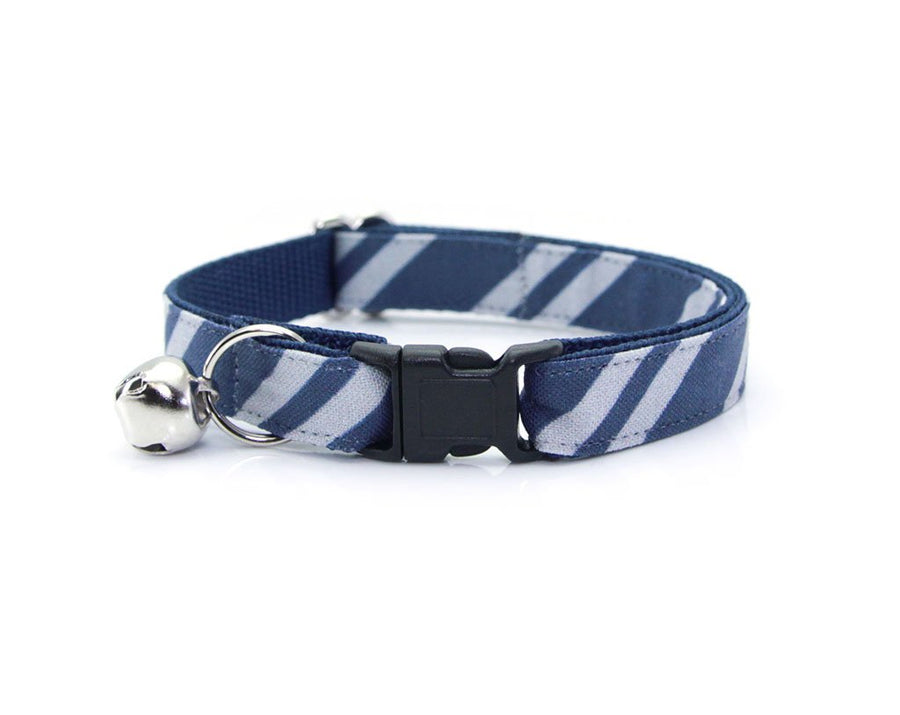 "Cat Collar - ""Wizarding School / Blue"" - Harry Potter-Inspired Cat Collar / Ravenclaw / Cat, Kitten & Small Dog Sizes"