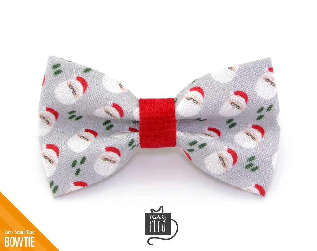 f098a2719e3a Christmas Pet Bow Tie -