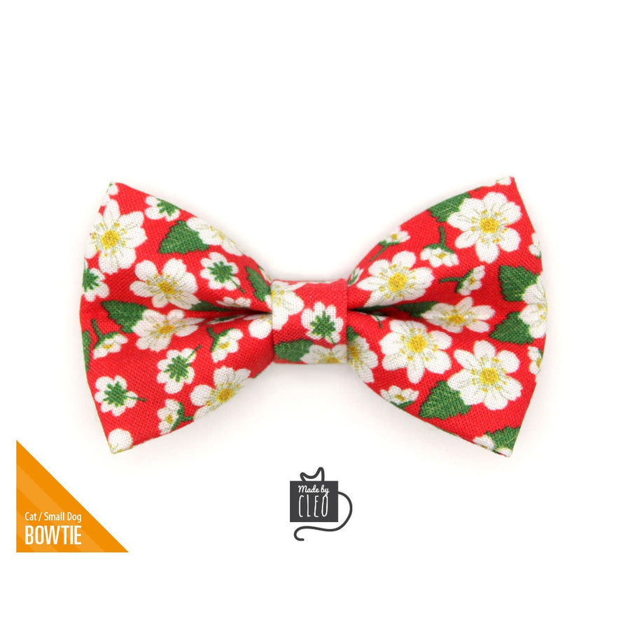 Vintage Bow Summer Bow Floral Bow Spring Bow Mustard Vintage Floral