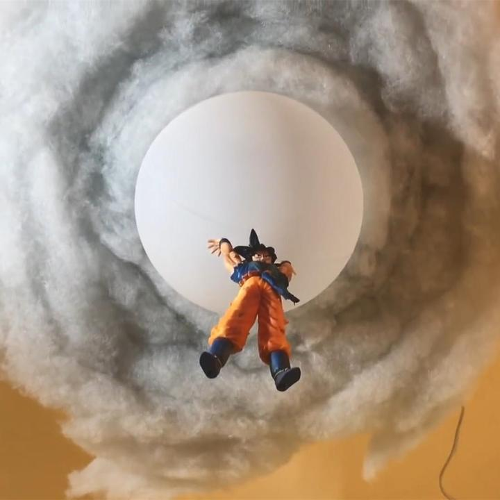 Goku Cloud Lamp