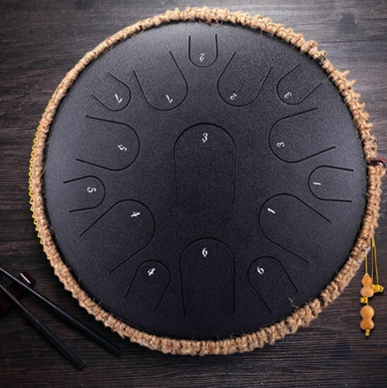"Calm 2 ""Traditional Steel Tongue Drum"""