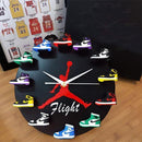 Air Jordan 3D Sneaker Clock with 12 Mini Sneakers Jordan