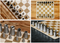 Chess: Compact, portable nesting chess set