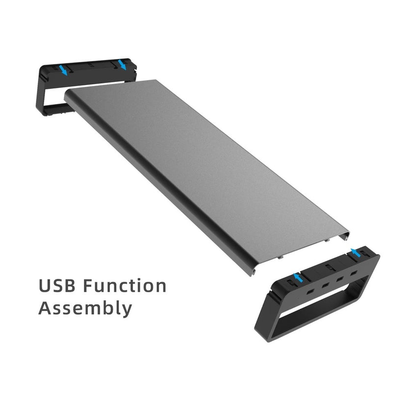 Aluminum Alloy Base Stand with USB 3.0 Ports